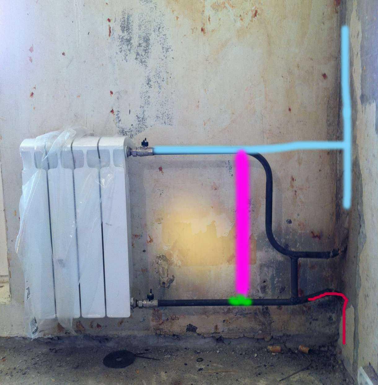 схема вентиляция дом 137 серия