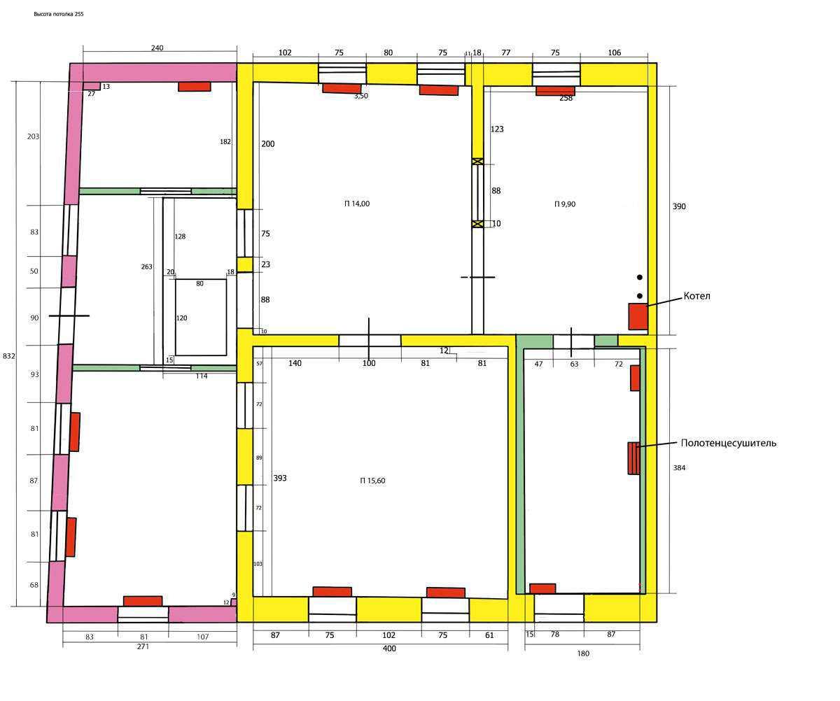 Схема системы отопления в частном одноэтажном доме своими руками 537