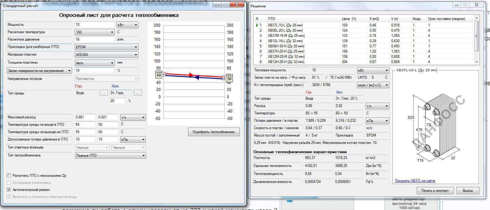 Расчет пластинчатый теплообменник расчет как расчитать расход пара через теплообменник