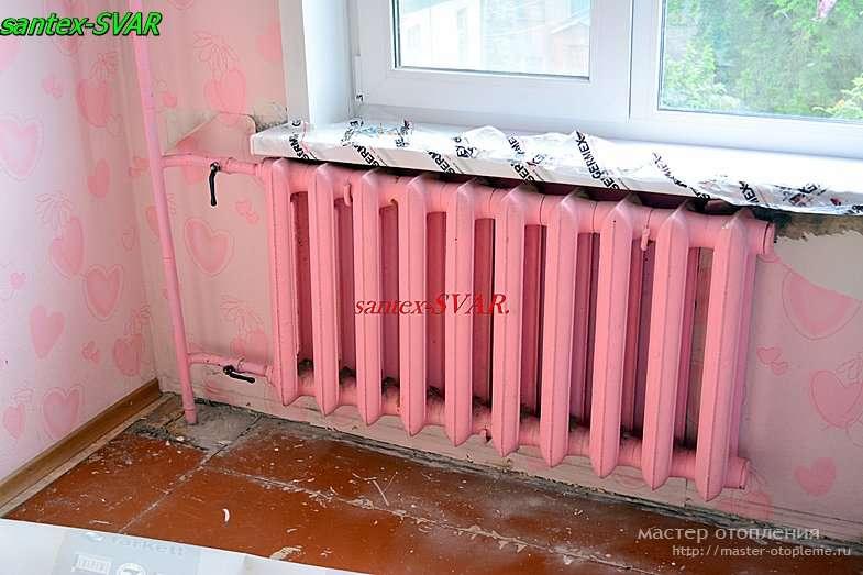 не работают радиаторы отопления на этажах