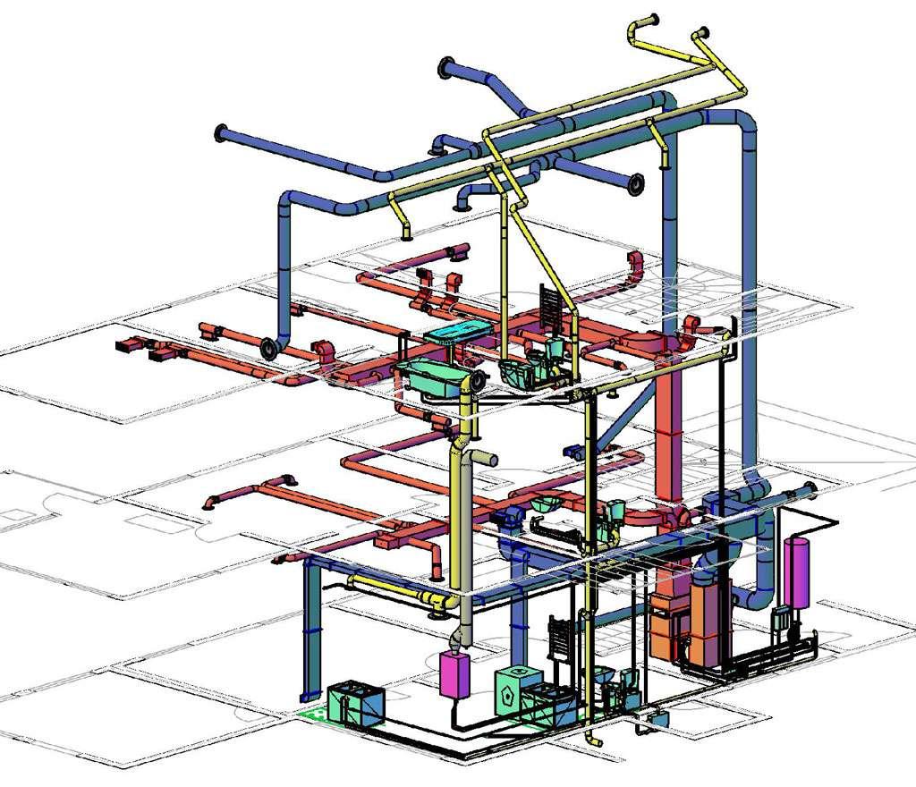 схема отопления двухэтажного дома котёл аристон
