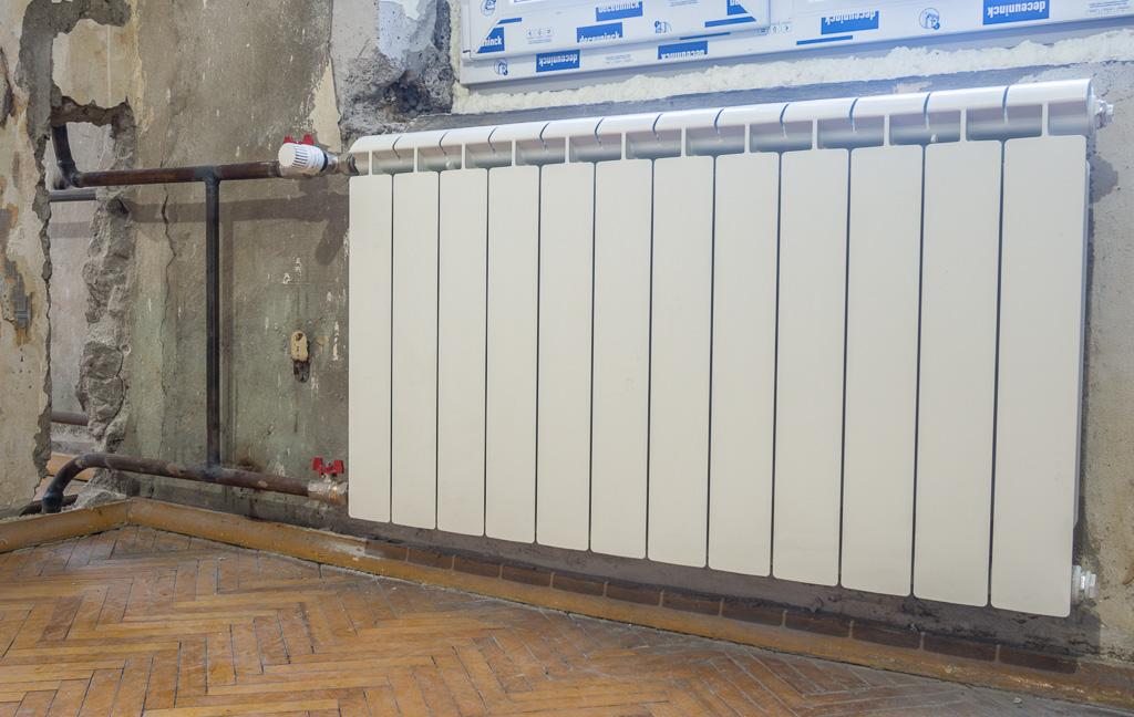 подключение биметаллических радиаторов фотоотчет ассоциации ведущих